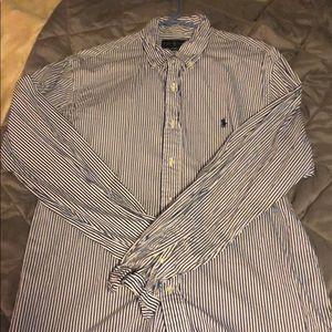 Ralph Lauren striped button down